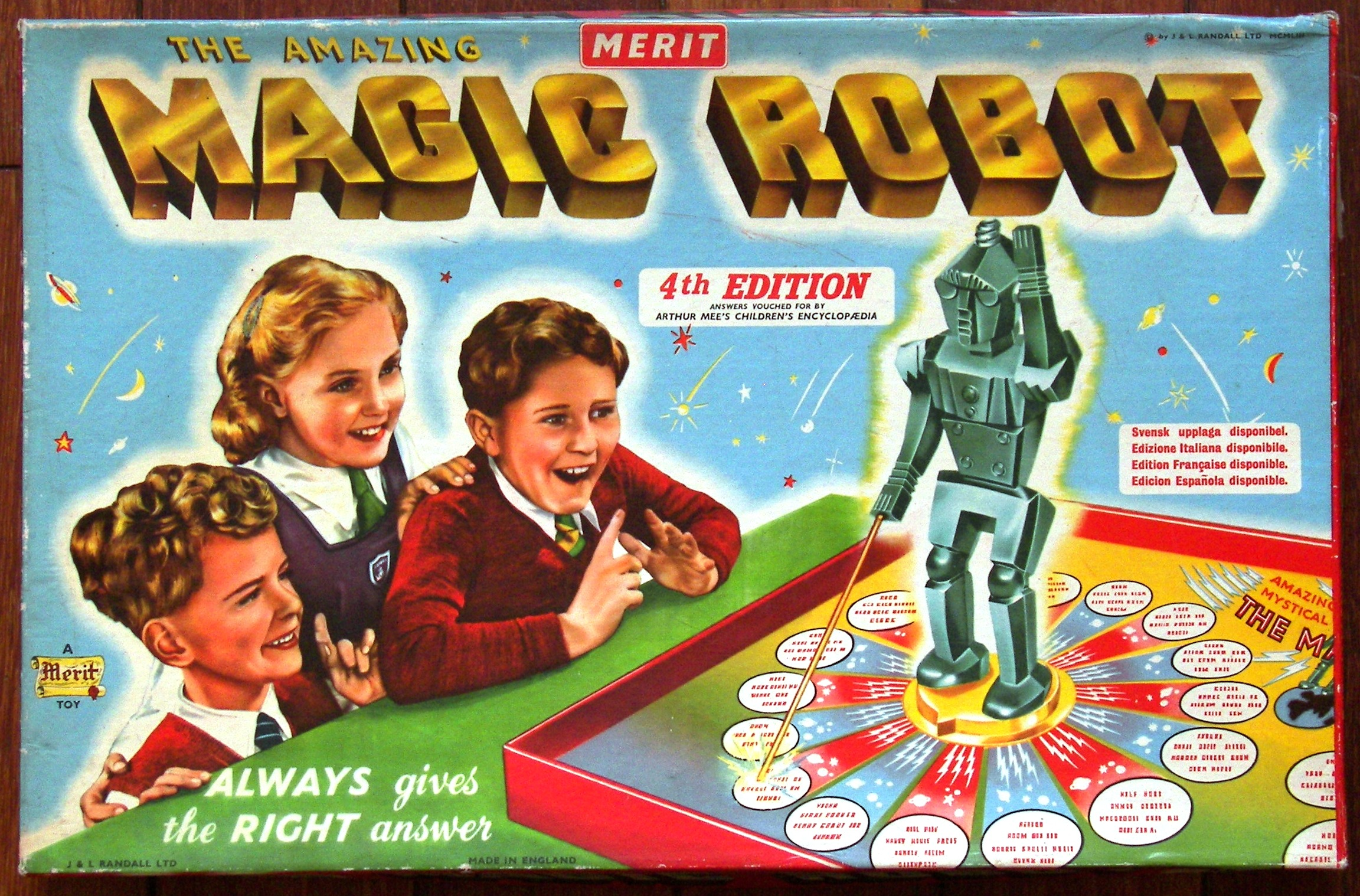 Magic Robot - It Always Gives the Right Answer