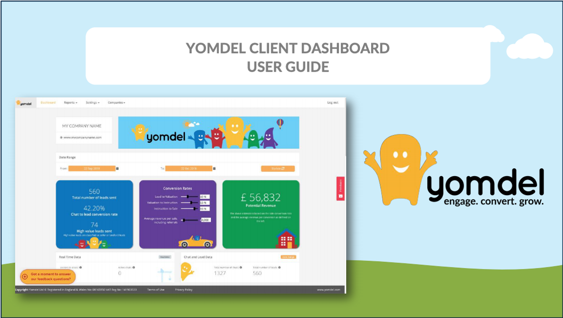 Live Chat Client Dashboard User Guide