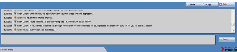 Epson live chat support discount offer