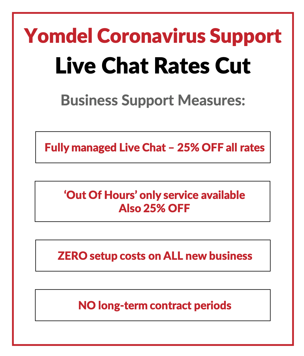 Live Chat Discount