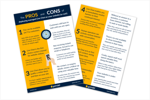Live Chat Pros and Cons Promo 1