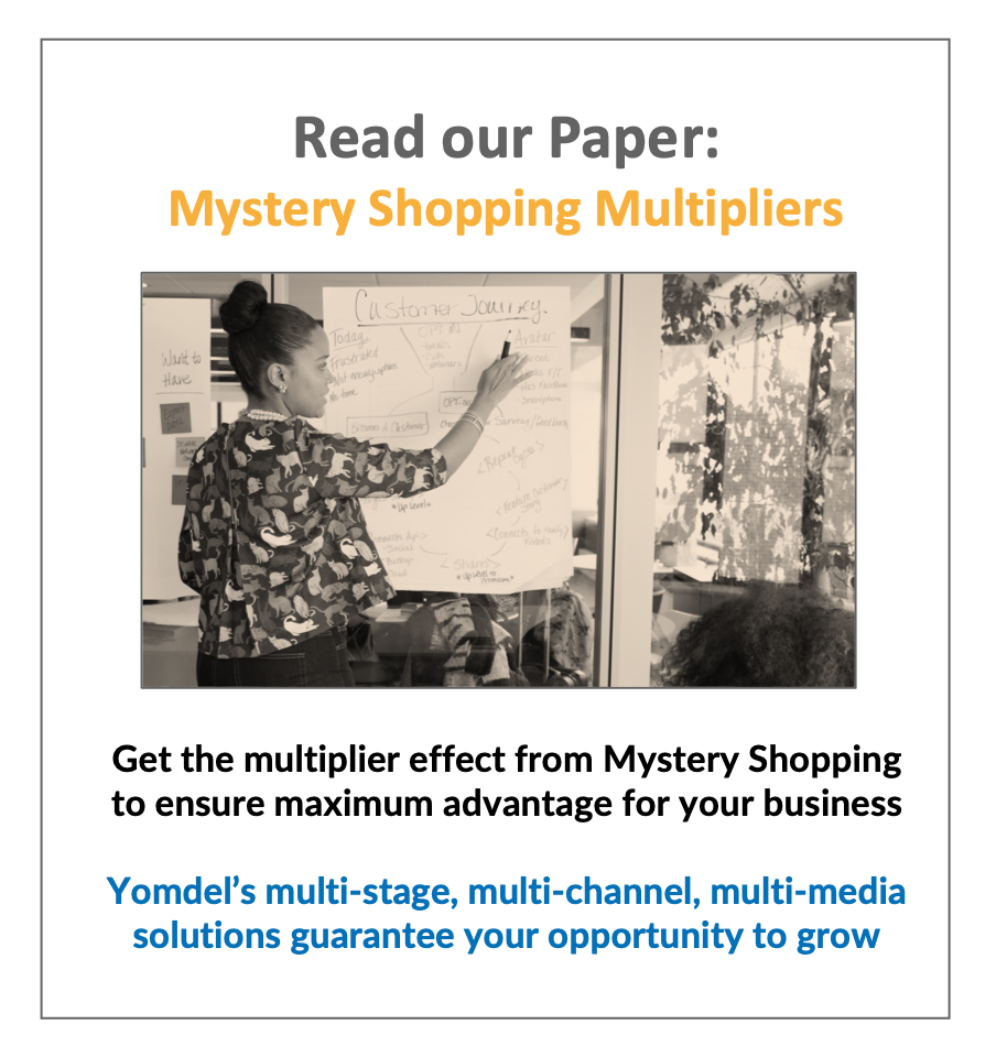 Multiplier in mystery shopping Paper