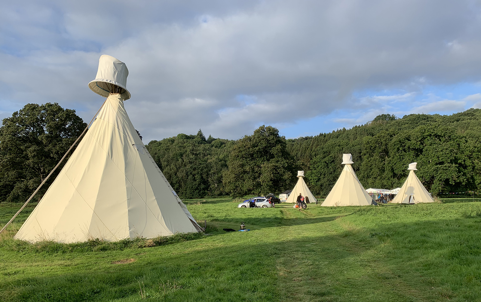 tipi adventures Ross-on-Wye