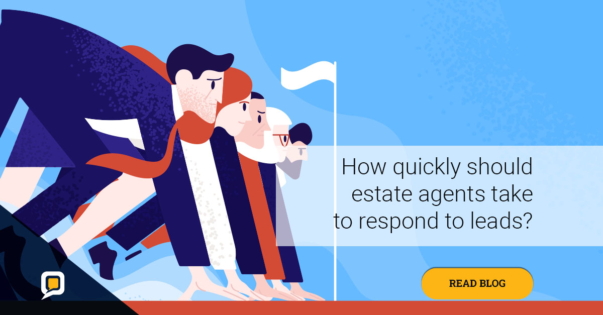 How quickly should estate agents respond to leads?