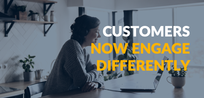changing customer behaviour online