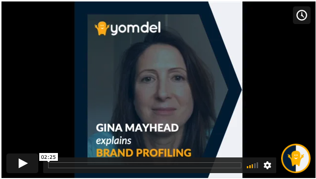 brand profiling research video