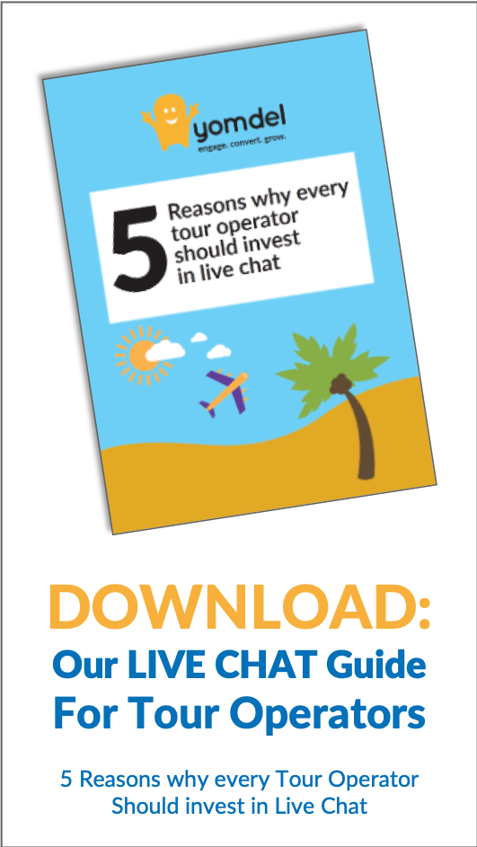 Live chat guide for tour operators